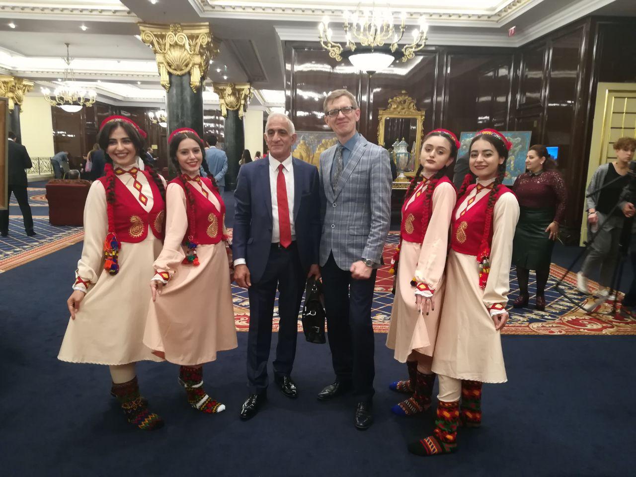 Торжественный приём Посла Республики Таджикистана в Москве