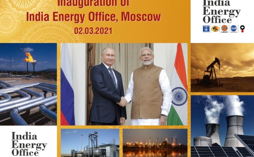 India Energy Office – a New Stage in Indian-Russian Energy Relations. Report by Yulia Zuban
